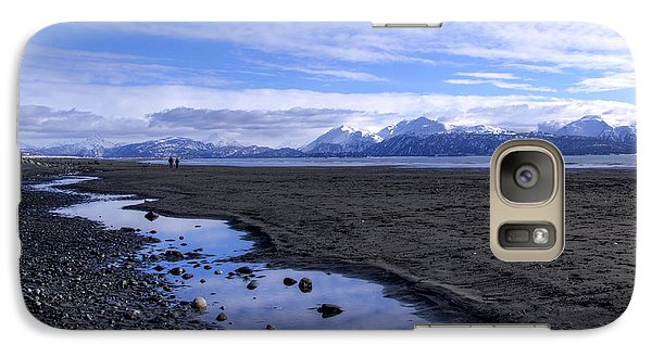 Galaxy Case featuring the photograph Low Tide by Michele Cornelius