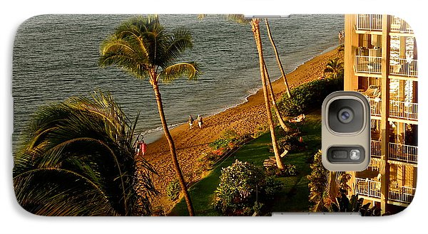 Galaxy Case featuring the photograph Maui Sunset by Kirsten Giving