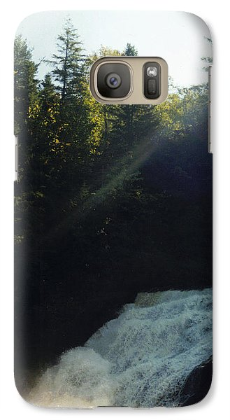 Galaxy Case featuring the photograph Morning Waterfall by Stacy C Bottoms