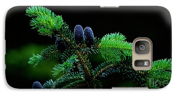 Galaxy Case featuring the photograph Mountain Life by Sharon Elliott
