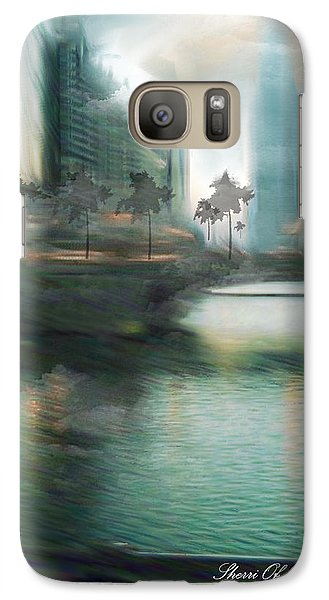 Galaxy Case featuring the photograph My Kind Of Town Chicago Is by Sherri  Of Palm Springs