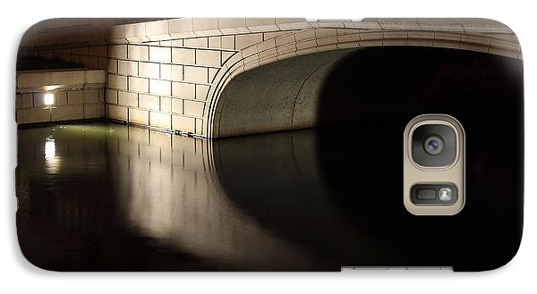 Galaxy Case featuring the photograph Mystery Bridge by Scott Rackers