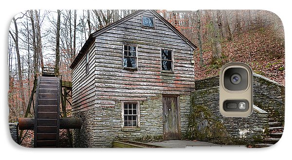 Galaxy Case featuring the photograph Old Grist Mill by Paul Mashburn