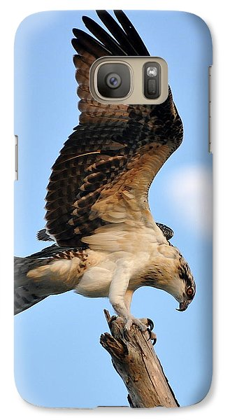 Galaxy Case featuring the photograph Osprey In Flight by Rick Frost