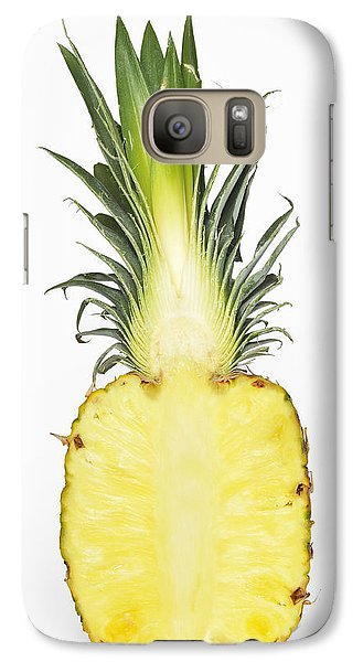 Pineapple Ananas Comosus Galaxy S7 Case by Matthias Hauser