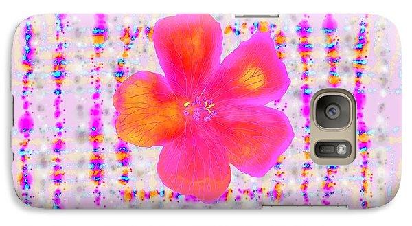 Galaxy Case featuring the digital art Pink On Pink by Barbara Moignard