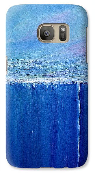 Galaxy Case featuring the painting Reflection Of Yesterday Series by Dolores  Deal
