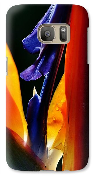 Galaxy Case featuring the photograph Reginae Strelitzia by Werner Lehmann