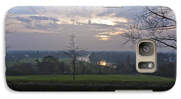Galaxy Case featuring the photograph Richmond Sunset by Maj Seda