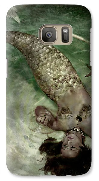 Galaxy Case featuring the photograph Ripple Magic  by Nada Meeks