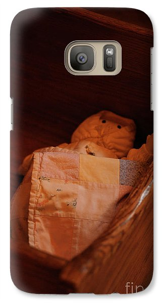 Galaxy Case featuring the photograph Rock-a-bye My Baby by Linda Shafer