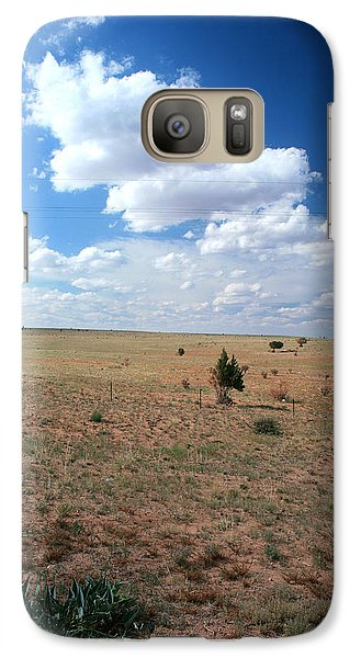Galaxy Case featuring the photograph Somewhere Off The Interstate In New Mexico by Lon Casler Bixby