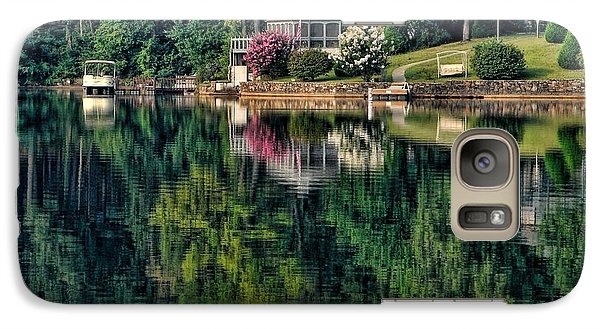 Galaxy Case featuring the photograph Still Waters by Rick Friedle