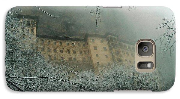Galaxy Case featuring the photograph Sumela Monastery by Lou Ann Bagnall