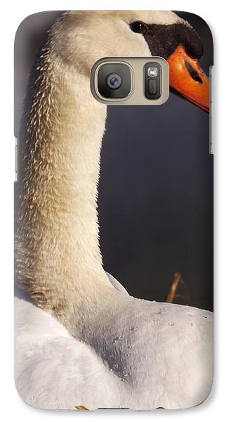 Galaxy Case featuring the photograph Swan Lake 1 by Gerald Strine