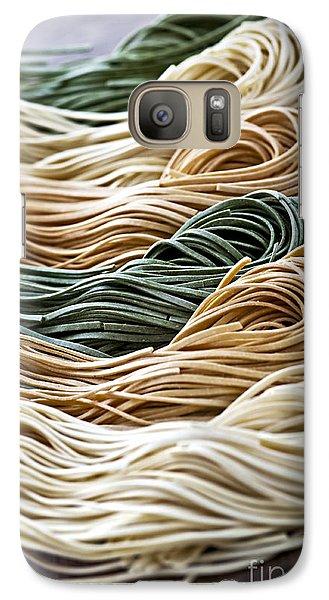 Tagliolini Pasta Galaxy S7 Case by Elena Elisseeva