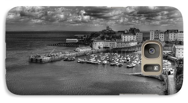Galaxy Case featuring the photograph Tenby Harbour by Steve Purnell