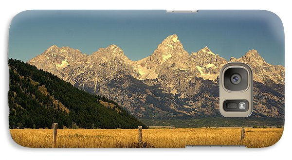 Galaxy Case featuring the photograph Tetons 3 by Marty Koch