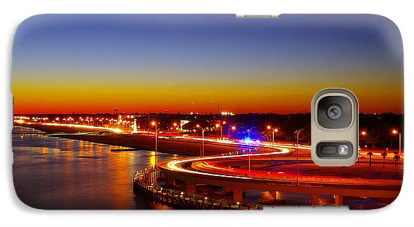 Galaxy Case featuring the photograph The Beauty Of The Night by Brian Wright