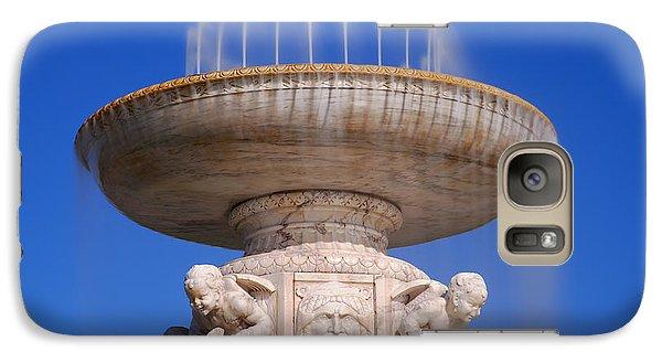 Galaxy Case featuring the photograph The Belle Isle Scott Fountain by Gordon Dean II