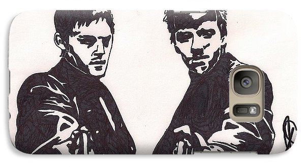 Galaxy Case featuring the drawing The Boondock Saints by Jeremiah Colley