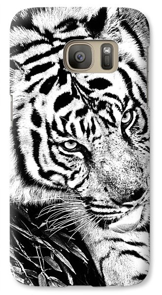 Galaxy Case featuring the photograph Tiger by Perla Copernik
