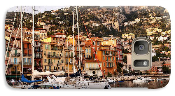 Galaxy Case featuring the photograph Villefranche-sur-mer  by Steven Sparks