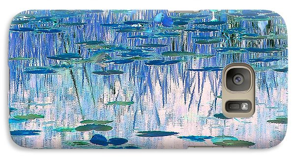 Galaxy Case featuring the photograph Water Lilies by Chris Anderson