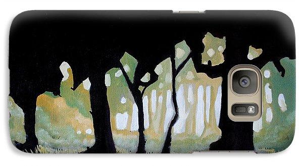 Galaxy Case featuring the painting ... by Mariusz Zawadzki