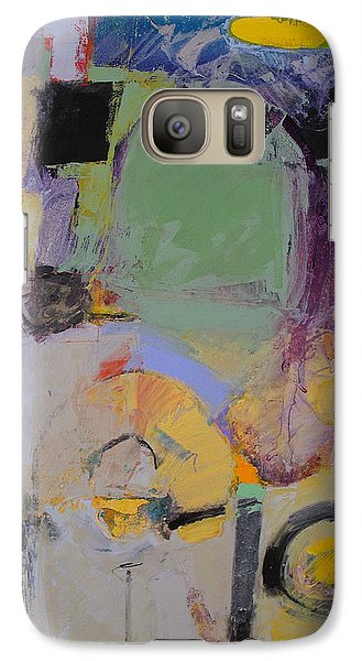 Galaxy Case featuring the painting 10th Street Bass Hole by Cliff Spohn