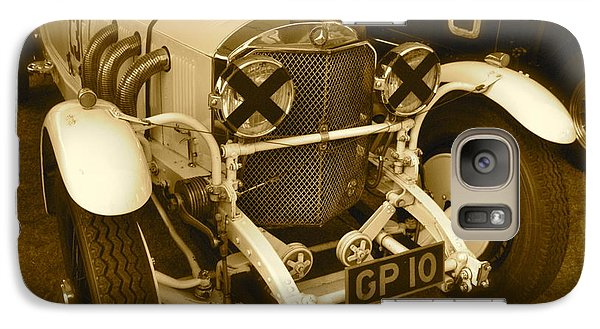 Galaxy Case featuring the photograph 1930 Mercedes Benz 710 Ss Rennsport by John Colley