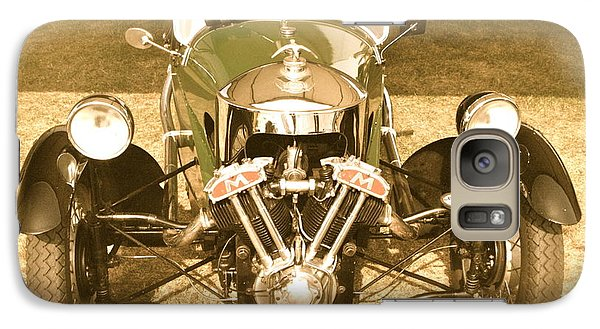 Galaxy Case featuring the photograph 1930s Three Wheel Morgan by John Colley