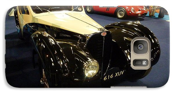 Galaxy Case featuring the photograph 1937 Bugatti Type S7sc Altalante by John Colley