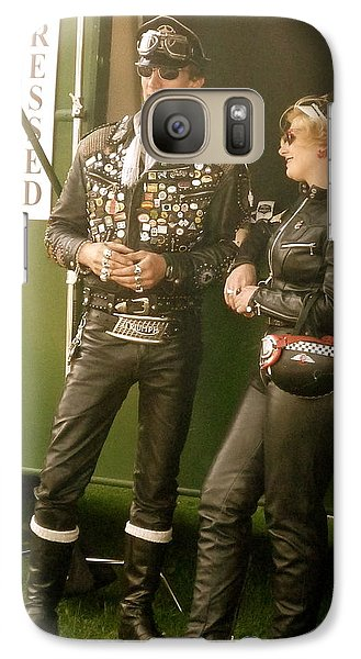 Galaxy Case featuring the photograph 1950s Rockers by John Colley