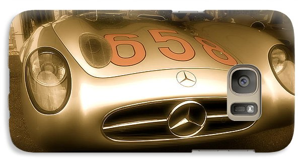 Galaxy Case featuring the photograph 1955 Mercedes Benz 300slr Fangio by John Colley