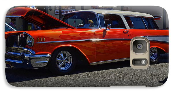 Galaxy Case featuring the photograph 1957 Belair Wagon by Tikvah's Hope