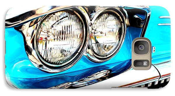 Galaxy Case featuring the digital art 1958 Buick by Tony Cooper