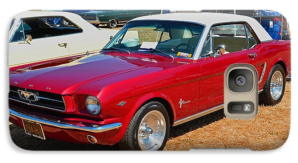 Galaxy Case featuring the photograph 1964 Ford Mustang by Tikvah's Hope
