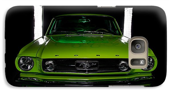Galaxy Case featuring the photograph 1965 Mustang by Jim Boardman