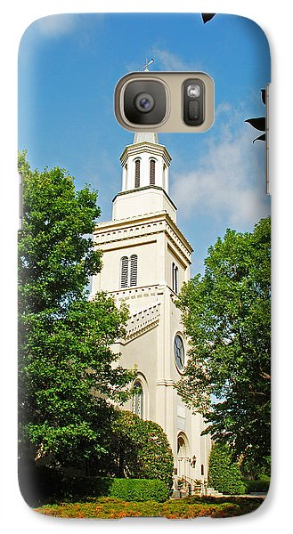 Galaxy Case featuring the photograph 1st Presbyterian Church by Kay Lovingood