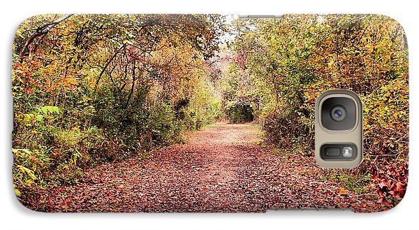 Galaxy Case featuring the photograph Autumn Trail by Rick Friedle
