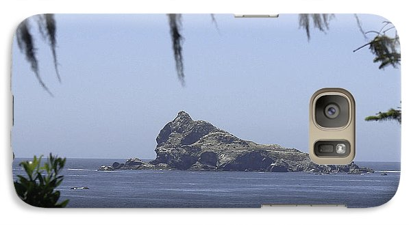 Galaxy Case featuring the photograph Castle Rock by Betty Depee