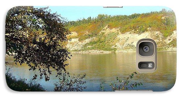Galaxy Case featuring the photograph North Saskatchewan River by Jim Sauchyn