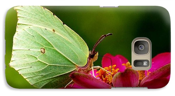 Galaxy Case featuring the photograph Butterfly by Sylvie Leandre