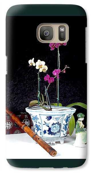Galaxy Case featuring the photograph Rendezvous by Elf Evans