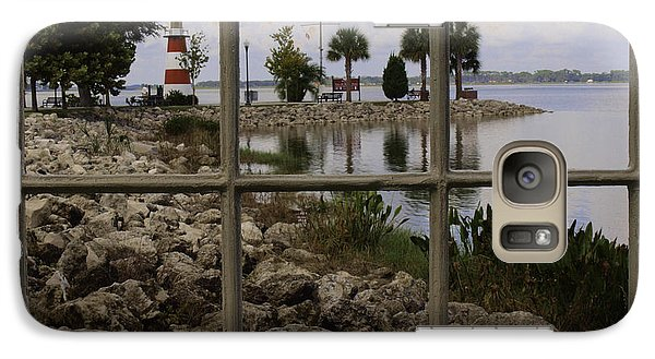 Galaxy Case featuring the photograph Room With A View by Randy Sylvia
