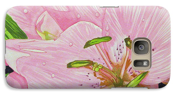 Galaxy Case featuring the painting Rosita  by Debi Singer