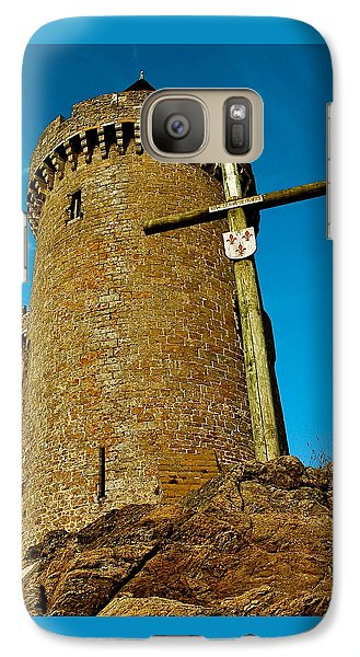 Galaxy Case featuring the photograph Solidor And Cross by Elf Evans