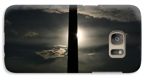 Galaxy Case featuring the photograph Washington Monument by Stacy C Bottoms