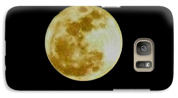 Galaxy Case featuring the photograph 2011 Full Moon by Maria Urso